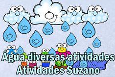 Diversas atividades sobre a água | Atividades Pedagogica Suzano