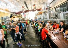 Sell-out race in downtown Detroit.  4,500 runners followed the course in view of the RenCen-dominated Detroit skyline along the beautiful Detroit River Walk with a finish line at Atwater Brewery where they gathered with a few thousand of their friends in the Atwater Taproom for a Dirty Blond Ale, spilling out into the street where a live band concert, good eats at the food trucks and good times continued into the night.  http://www.atwaterbeer.com/  http://www.detroitriverfront.org/