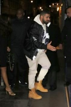 Drake wearing Timberland Classic 6 Premium Boot