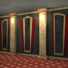 DIY Acoustic Panels on Pinterest | Acoustic Panels, Home ...