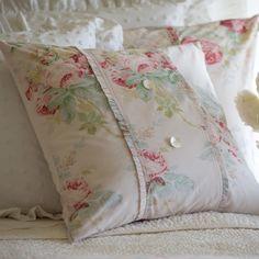 Shore Rose Petal Porch Pillow