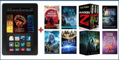 You could win a Kindle Fire and a library of eight science fiction and fantasy books or box sets from eight acclaimed authors. Just answer the question below for your chance to win. Bonus: All entrants will receive a FREE collection of science fiction and fantasy ebooks from the authors sponsoring the prize. Look out for the email telling you how to claim your free books after your entry has been confirmed.