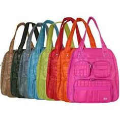 Lug bags - stylish, roomy, practical and fun colours! Travel Necessities, Best Gym, Material Girls, Beautiful Bags, Travel Bags, Purses And Bags, Gym Bag, Fashion Accessories, Handbags