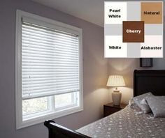 """White 2"""" Faux Wood Blinds,Width 25.875in., Free Shipping, 25 7/8 x 52 by Top Blinds. Save 36 Off!. $34.99. Hardware included for either inside or outside mounting.. Lift cord on the right, tilt cord on the left.. Provides real wood look and feel. 26 3/8 inch width if plus the mounting hardware. 2 inch wide slats. Includes 3 1/4 inch valance provided 2 inch larger in width.. Top Blinds 2 inch Faux Wood blinds are a terrific combination of quality and practicality. With 5 color..."""