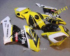 Mad Hornets Rear Hugger Fender Mudguards ABS Fairing for Suzuki GSXR1000 Yellow 2005-2006