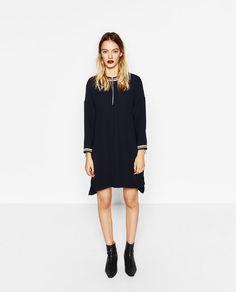Image 1 of ZIP-UP DRESS from Zara