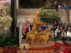 Natural Balance Pet Food rose parade float