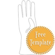 Free PDF Glove Template from Stampington.com