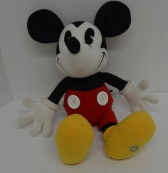 "Disney World Mickey Mouse Plush Collectible 100 Years Of Magic 18"" #Disney http://stores.ebay.com/Lost-Loves-Toy-Chest/_i.html?image2.x=0&image2.y=0&_nkw=disney"