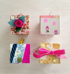 Ruby Star Ornament Boxes ~ Free Tutorial « Sew,Mama,Sew! Blog