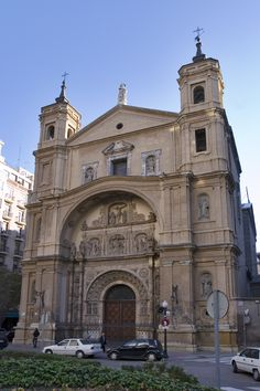 Portada de la Iglesia Basílica de Santa Engracia