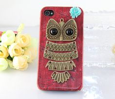 Totten eaglin this is so you Owl Phone Cases, Iphone Cases, Cute Owl, Becca, Antique Brass, Owls, Ipod, To My Daughter, Phones