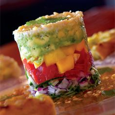 The Polynesian Crab stack from Roppongi in La Jolla California is to Die for
