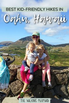 Featuring the best kid friendly hikes in Oahu. These easy hiking trails are short hikes and perfect for kids and any hiking level. See here which ones are my top 5 favorite hikes on the island. #kidfriendlyhikes #hiking #oahuhawaii Baby Hiking, Hiking With Kids, Travel With Kids, Hiking Guide, Hiking Gear, 5 Kids, Cool Kids, Children, Printable Packing List