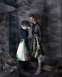 Leah Rodi Fancies Artist Dorthea Tanning Lensed By Sandrine + Michael For How To Spend It Magazine February 2019 — Anne of Carversville Fashion Art, Editorial Fashion, Princess Line Dress, Dorothea Tanning, Avant Garde Dresses, Louise Bourgeois, Spring Looks, Surreal Art, Fashion Photography