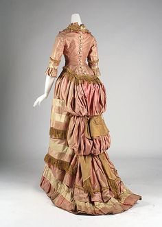 Silk Dress -- 1877-1879 -- American -- The Metropolitan Museum Of Art Costume Institute