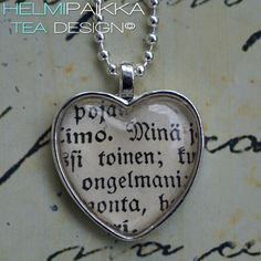 Minä toinen ongelmani 20€ Tea Design, Dog Tags, Dog Tag Necklace, Jewelry, Jewlery, Jewerly, Schmuck, Jewels, Jewelery