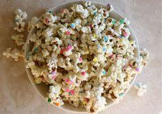 White Chocolate Confetti Popcorn by A Cozy Kitchen for GG