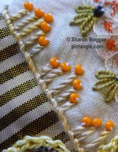 buttonhole stitch  - many ideas here - /crzqltr/crazy-quilting-seam-treatments/  BACK