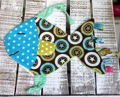 Schnuller-/Schmusetuch Nemo der Fisch