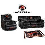 Cincinnati Bengals Leather Furniture Set http://www.sportsfansplus.com