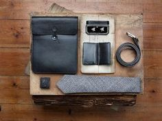 Black Leather Accessories