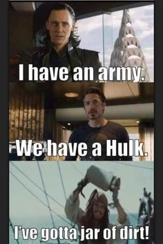 Avengers and Pirates