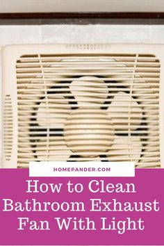 Read our article on how to clean bathroom exhaust fan with light? #Cleaning #homesmellhacks #bathroom #bathroomsmellhacks #cleaninghacks #householdhacks #cleaningtips #householdtips #easycleaning. Bathroom Cleaning Hacks, Cleaning Walls, House Cleaning Tips, Deep Cleaning, Cleaning Supplies, Bathroom Exhaust Fan, Best Cleaning Products, How To Clean Carpet, Housekeeping