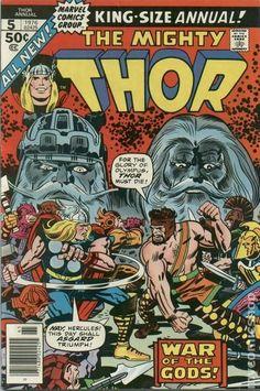 Thor (1962-1996 1st Series) Annual 5