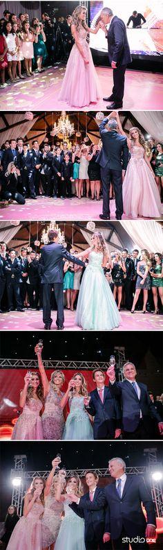 06 Festa de 15 anos debutante debutantes Paola e Pietra curitiba gêmeas studio one dança coreografia