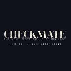 "Check out my @Behance project: ""CHECKMATE 