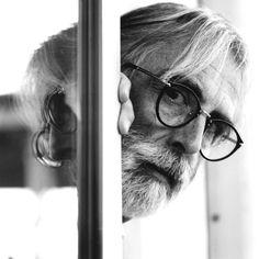 Michael Haneke. Photography by Richard Schroeder.