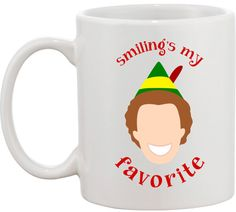 Smiling's My Favorite Mug #NYLONshop http://shop.nylon.com/collections/whats-new/products/smilings-my-favorite-mug