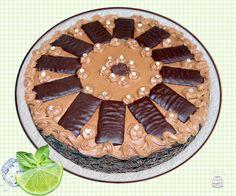 Schoko-Creme Minz Torte