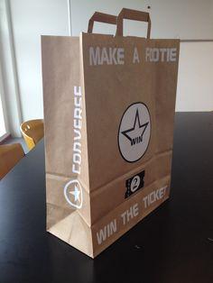 Paperbag Design Project Converse Nikya Liezen
