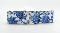 For Kaylie? Blue Porcelain Paisley Dog Collar (Martingale, Buckle or Tag). $20