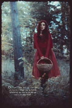 Little Dead Riding Hood by Sherif Mokbel, via Behance