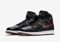 "Air Jordan 1 ""Rare Air"" In Bronze - SneakerNews.com"