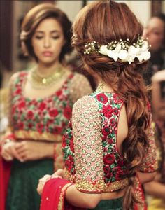 Best Indian bridal Wedding Hairstyles 2015-2016 | StylesGap.com