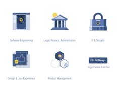 Career Employment Vector Icons