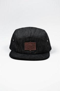 75b41884b7f The Henry 5-Panel Hat (Black) - Hats Beanies - Women Black Beanie