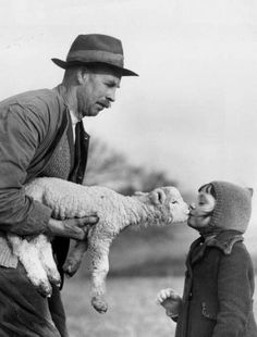 Kiss from a Lamb, Ist January, 1939 by Murat Ibrahim