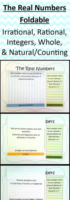 108 best real number system images on pinterest teaching math fun alternative to the venn diagram method of teaching the real number system ccuart Choice Image