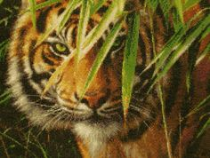 Shere Khan by ~cloudrat on deviantART (embroidery)