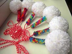 :) Baba Marta, Christmas Ornaments, Sewing, Knitting, Holiday Decor, Diy, Crafts, Handmade, Bulgaria
