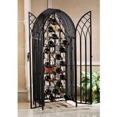 #5: 50 Italian Gothic Gated Wine Cellar