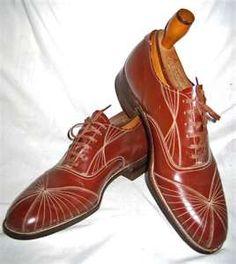 Thread: 1920s men's Art Deco shoes, 2 pairs