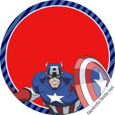 Kit del Capitán América para Imprimir Gratis.