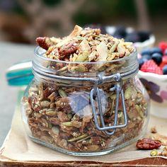 Grain Free Granola  | Yummy Mummy Kitchen | A Vibrant Vegetarian Blog