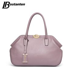 37ace0856640 BOSTANTEN Designer Genuine Leather Bags Ladies Famous Brand Women Handbags High  Quality Tote Bag